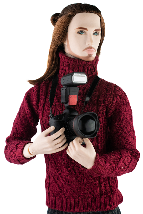 Layers Of A Man Romain Perrin Event Doll Image