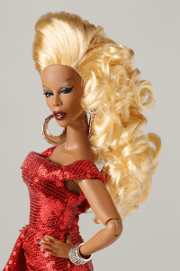 Red Realness The RUPAUL Doll Image
