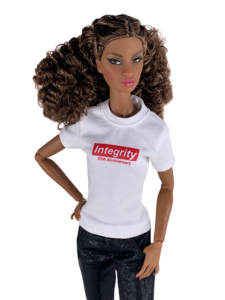 Integrity Doll-sized T-shirt Image